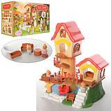 Детский домик с фигурками и мебелью , фото 4