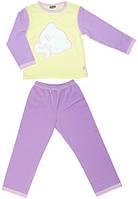 Детская пижама Котик, Тигрес, сиренево-желтая (110 р.), сиренево-желтый (200301110-3)