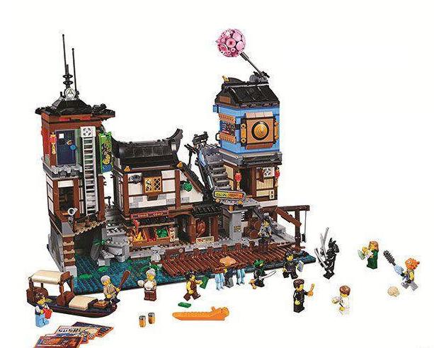 Конструктор « порт ниндзяго сити » , 3635 детали