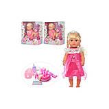 Детская кукла интерактивная пупс baby born, фото 2