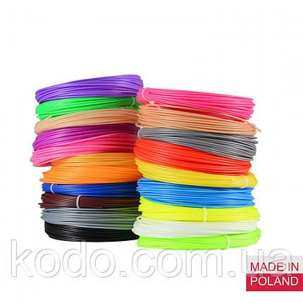Набор ПЛА пластик 16цв/ PLA нить для 3D ручки, стержни для 3д ручки, фото 2