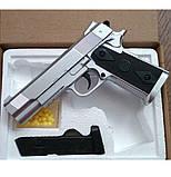 Пистолет детский металический, фото 3