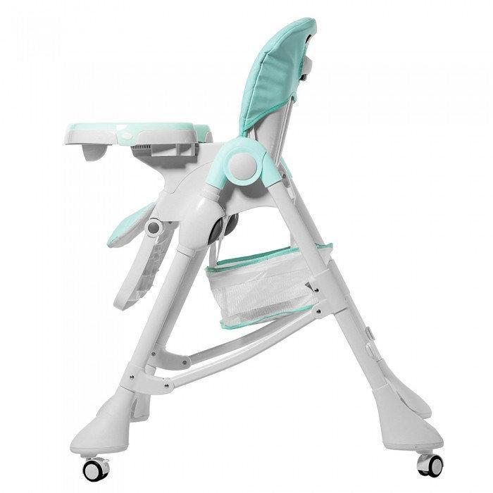 Детский стульчик carrello caramel sky blue