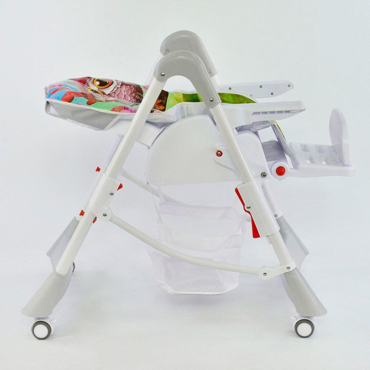 Стульчик для кормления на колесах