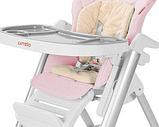 Детский стульчик carrello concord salmon pink, фото 2