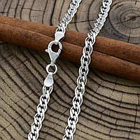 """Серебряная цепочка """"Нонна"""", длина 50 см, ширина 4.5 мм, вес 11.3 г"""