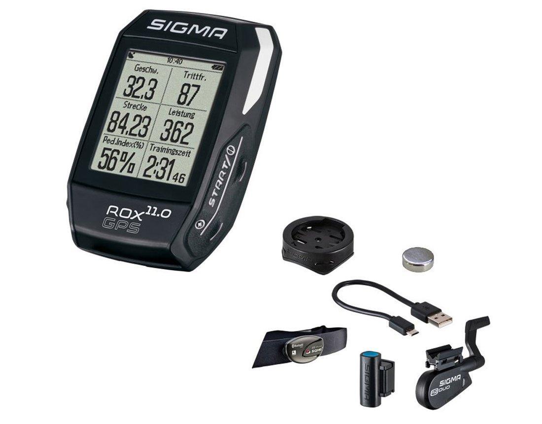 Велокомпьютер Sigma Rox 11.0 GPS SET черный