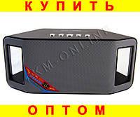 Портативная колонка с радио WS-Y66B mp3 microUSD