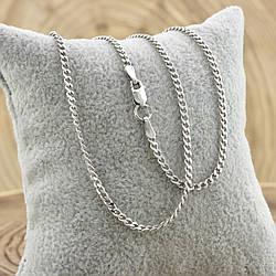 Серебряная цепочка Панцирная длина 55 см ширина 2 мм вес 5.4 г