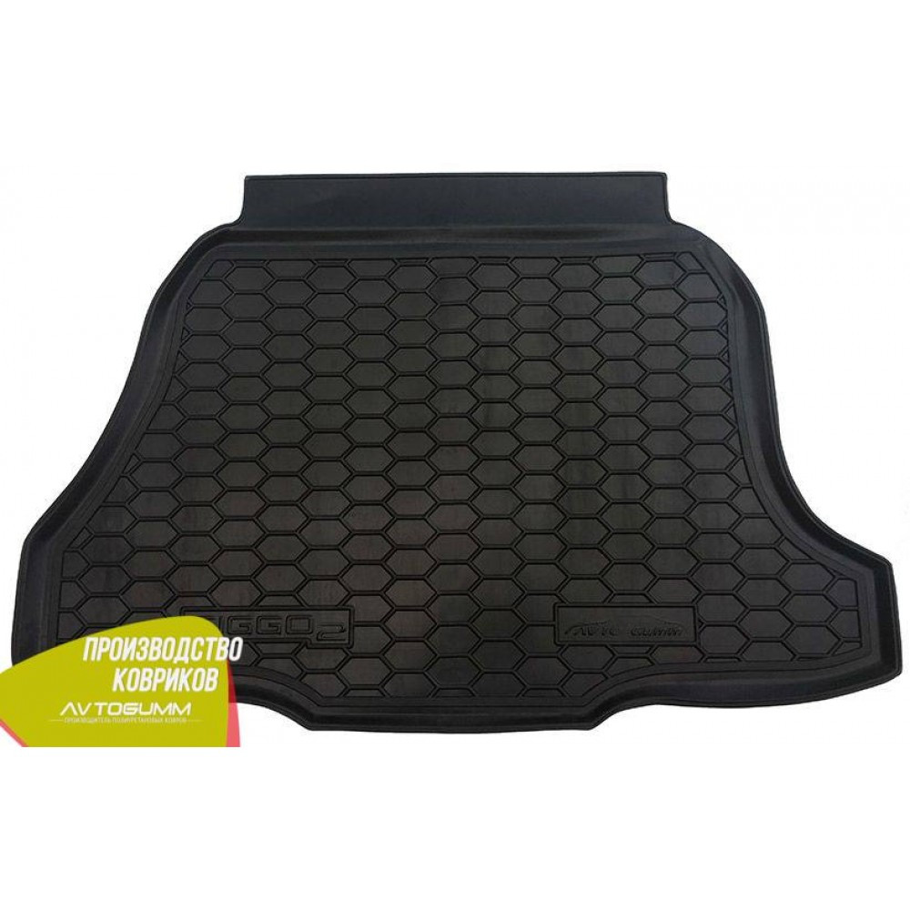 Авто коврик в багажник Chery Tiggo 2 2017- (Avto-Gumm) Автогум