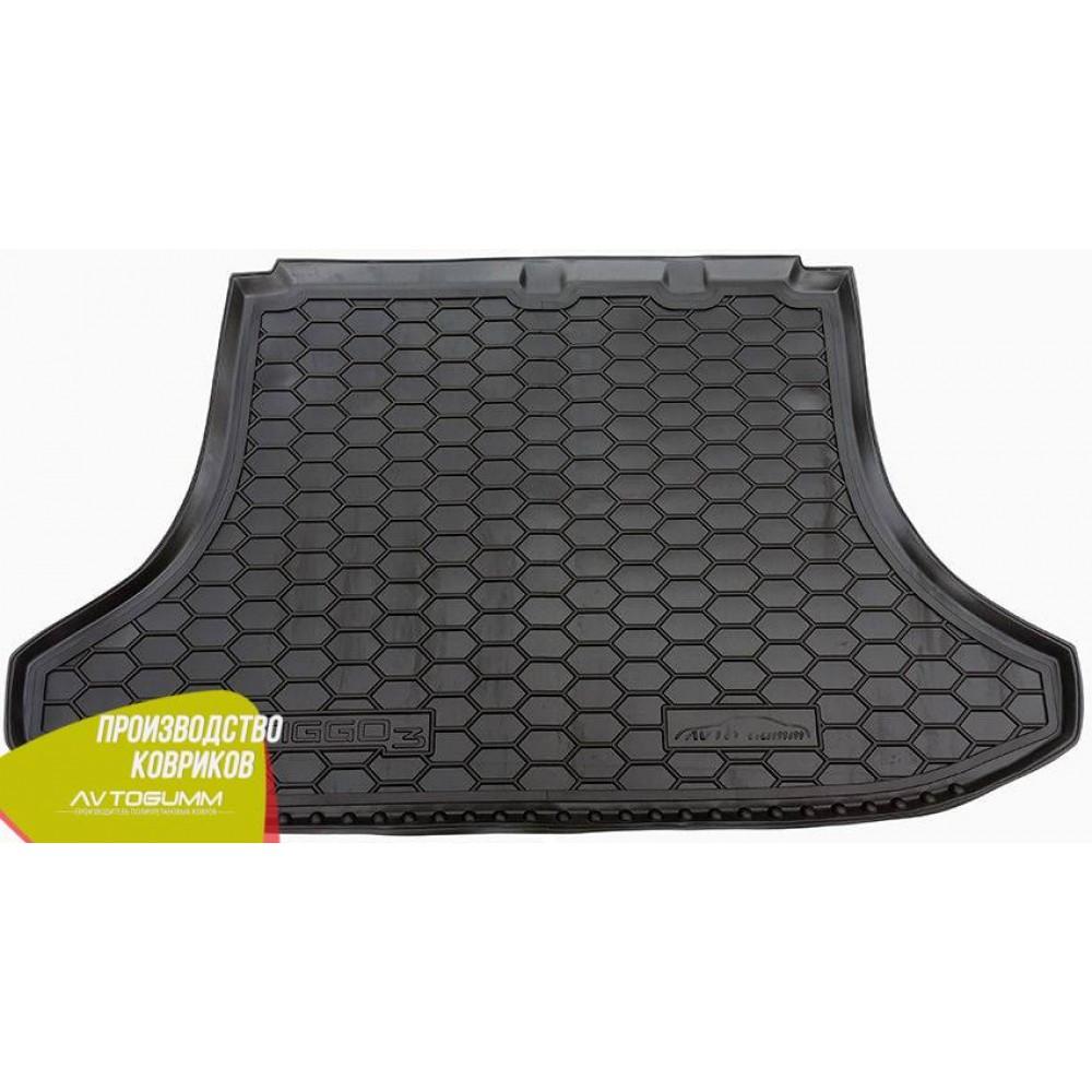 Авто килимок в багажник Chery Tiggo 3 2015- (Avto-Gumm) Автогум