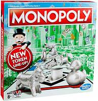 Монополия, классическая настольная игра (украинский язык), Monopoly, Hasbro (C1009)