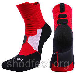 Баскетбольные носки Elite Pure Knitted Dri-fit Basketball Foot Mid Socks