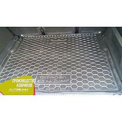 Авто килимок в багажник Citroen C4 Picasso 2014- (Avto-Gumm) Автогум