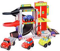 Конструктор Городской паркинг с машинками Abrick, Ecoiffier (003043-1)