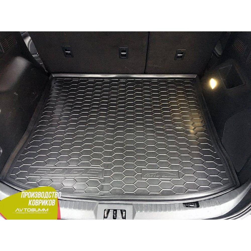 Авто килимок в багажник Ford Edge 2 2014- (Avto-Gumm) Автогум