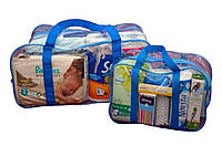 "Готовая сумка набор в роддом "" Лайт"" (26 наименований, 45 единиц товара)"