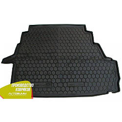 Авто коврик в багажник Geely Emgrand 8 (EC8) 2013- (Avto-Gumm) Автогум