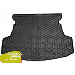 Авто коврик в багажник Geely GC5 2014- (Avto-Gumm) Автогум