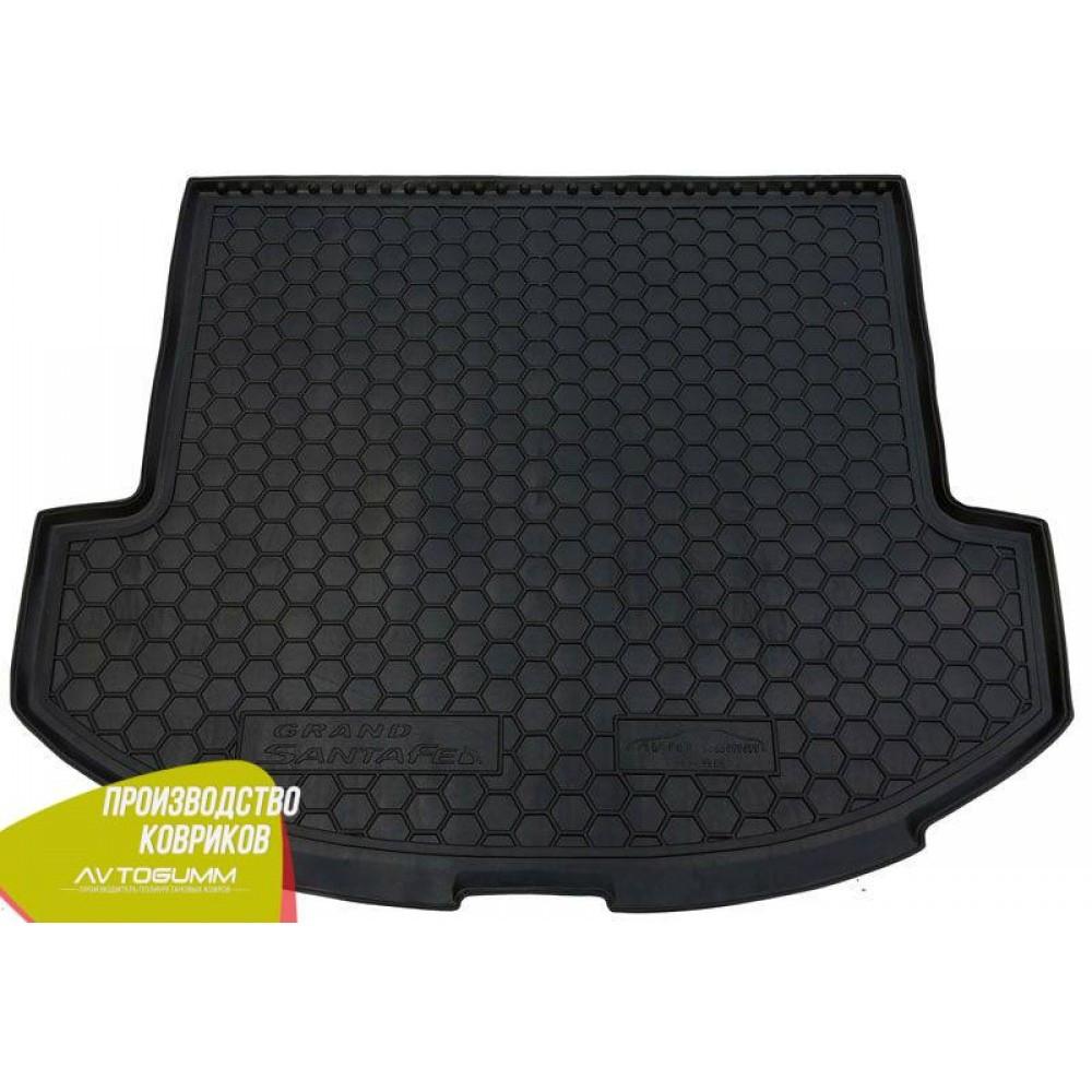 Авто коврик в багажник Hyundai Grand Santa Fe 2013- Base (Avto-Gumm) Автогум