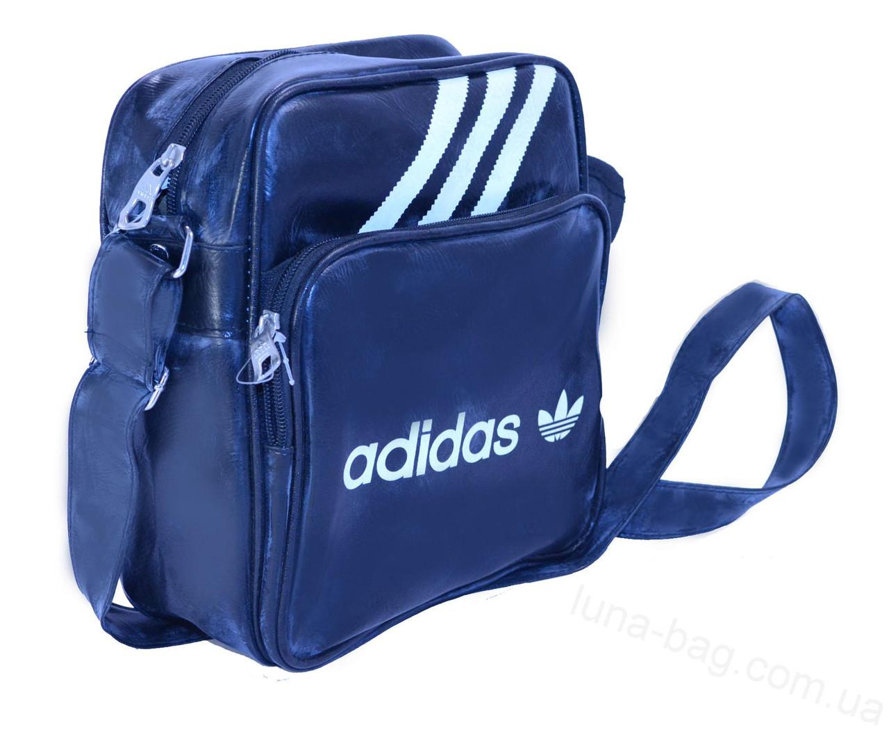 Сумка через плечо Adidas black 23x20x7 см