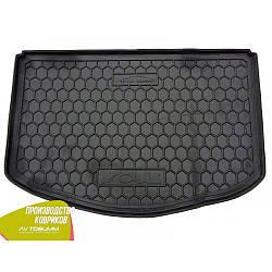 Авто килимок в багажник Kia Soul 2014- (нижній) (Avto-Gumm) Автогум