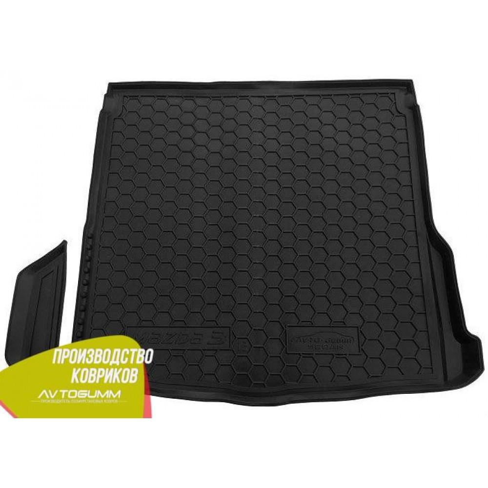 Авто килимок в багажник Mazda 3 2014 - Sedan (Avto-Gumm) Автогум