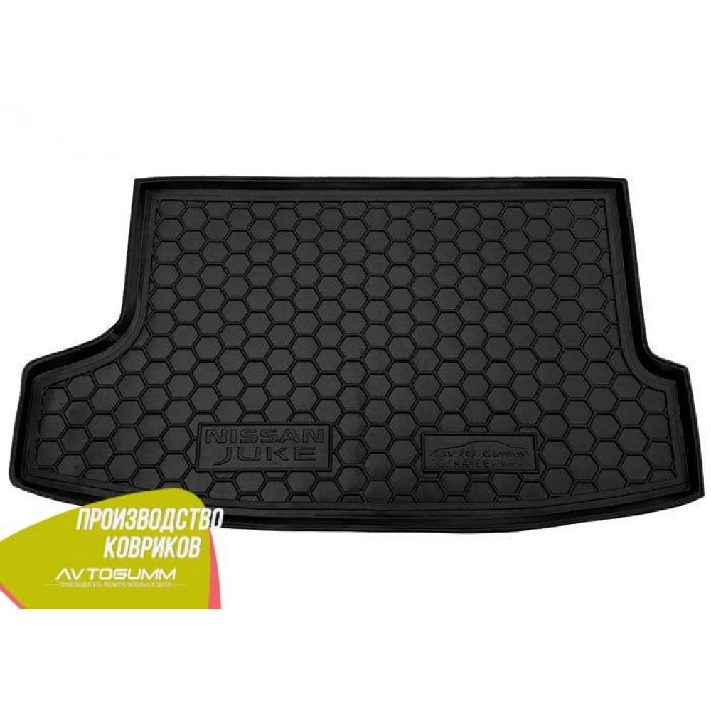 Авто килимок в багажник Nissan Juke 2016 - верхня полиця (Avto-Gumm) Автогум