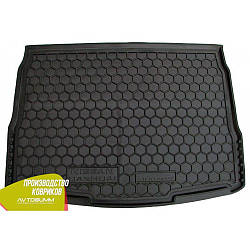 Авто килимок в багажник Nissan Qashqai 2014- (Avto-Gumm) Автогум