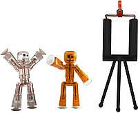 Игровой набор для анимационного творчества STIKBOT S1 – СТУДИЯ (2 экскл. фигурки, штатив) (TST615)