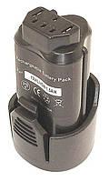 Аккумулятор для шуруповерта AEG R86048 1.5Ah 12V черный 1500 mAh, , 12 V