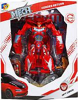 Робот-трансформер Спорткар Красный Maya Toys (D622-E267)