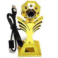Web camera веб камера WC-HD (цветок)
