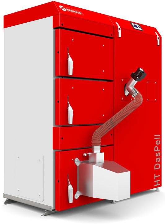 Автоматические твердотопливные котлы с пеллетной горелкой Heiztechnik HT DasPell 40 кВт (Польша)
