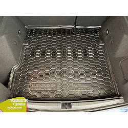 Авто килимок в багажник Renault Duster 2018- (2WD) (Avto-Gumm) Автогум