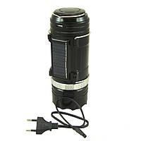 Кемпинговая LED лампа SB-9688 c фонариком и солнечной панелью, фото 1