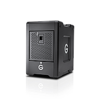 G-Technology G-Speed Shuttle Thunderbolt 3 with ev Series Bay Adapters  20TB Black (0G10142)