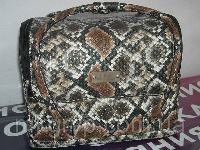 """Бьюти-кейс. сумка для мастеров индустрии красоты . """"Змеиная кожа"""""""