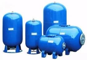 Гідроакумулятори для систем водопостачання