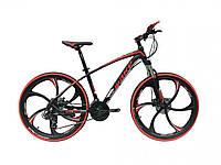 """Велосипед Make bike MTB2 26"""" литые диски, красный (MTB2-1)"""