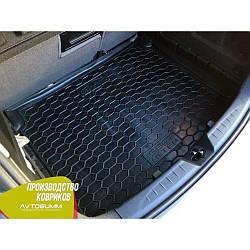 Авто коврик в багажник Seat Altea 2004- нижняя полка (Avto-Gumm) Автогум