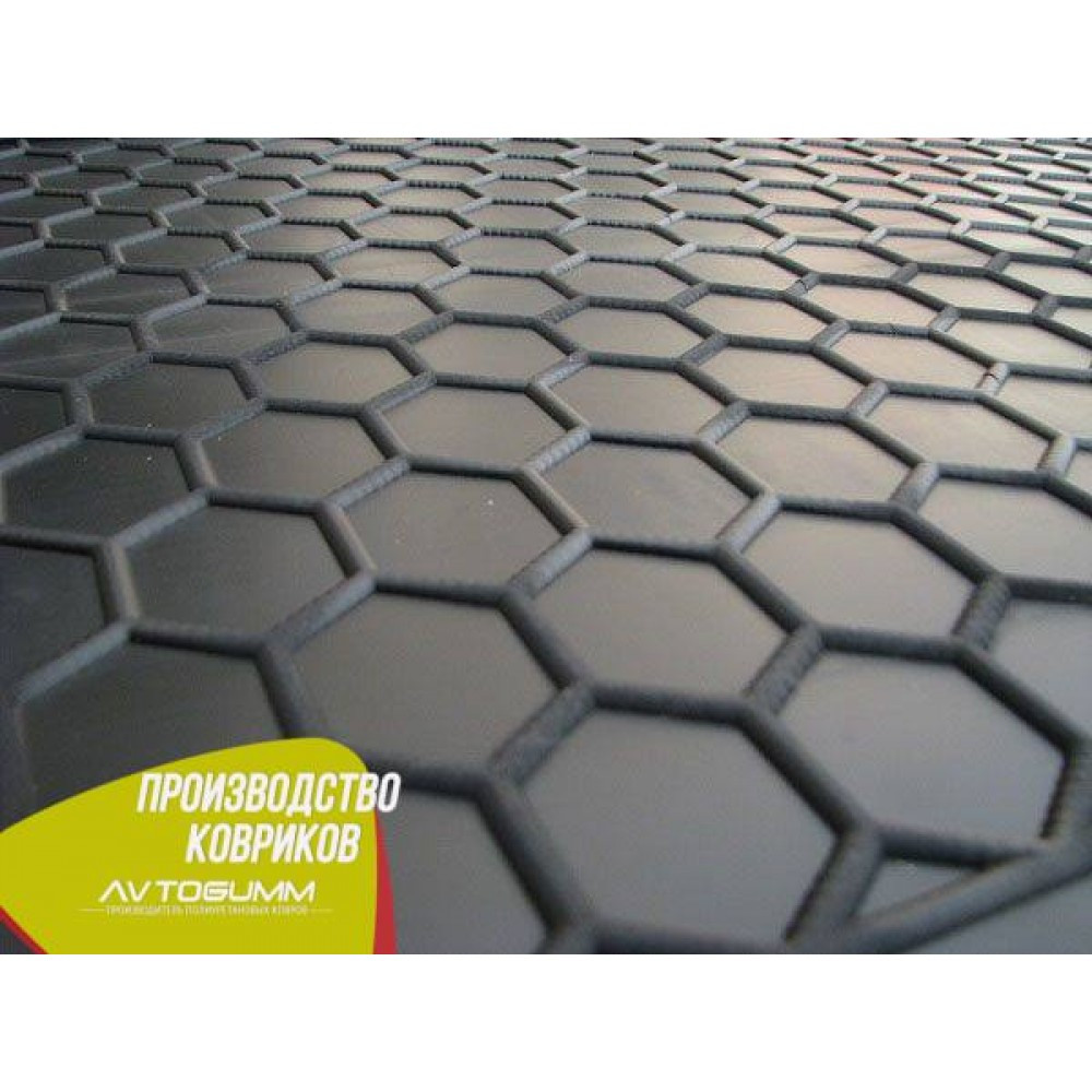 Авто килимок в багажник Skoda SuperB 2015 - Універсальний (Avto-Gumm) Автогум