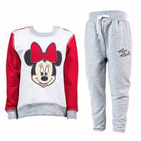 Спортивный костюм для девочки Мисс Минни, Disney Minnie Mouse, Тигрес (110 р.) (541403110)