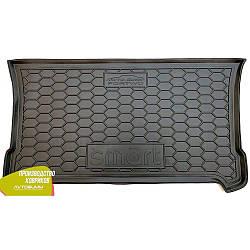 Авто коврик в багажник Smart ForTwo 453 2014- (Avto-Gumm) Автогум