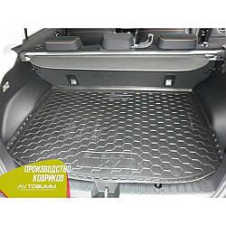 Авто коврик в багажник Subaru XV 2012- (Avto-Gumm) Автогум