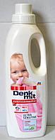 Жидкий порошок для детского белья Denkmit Colorwaschmittel Ultra Sensitive 1л