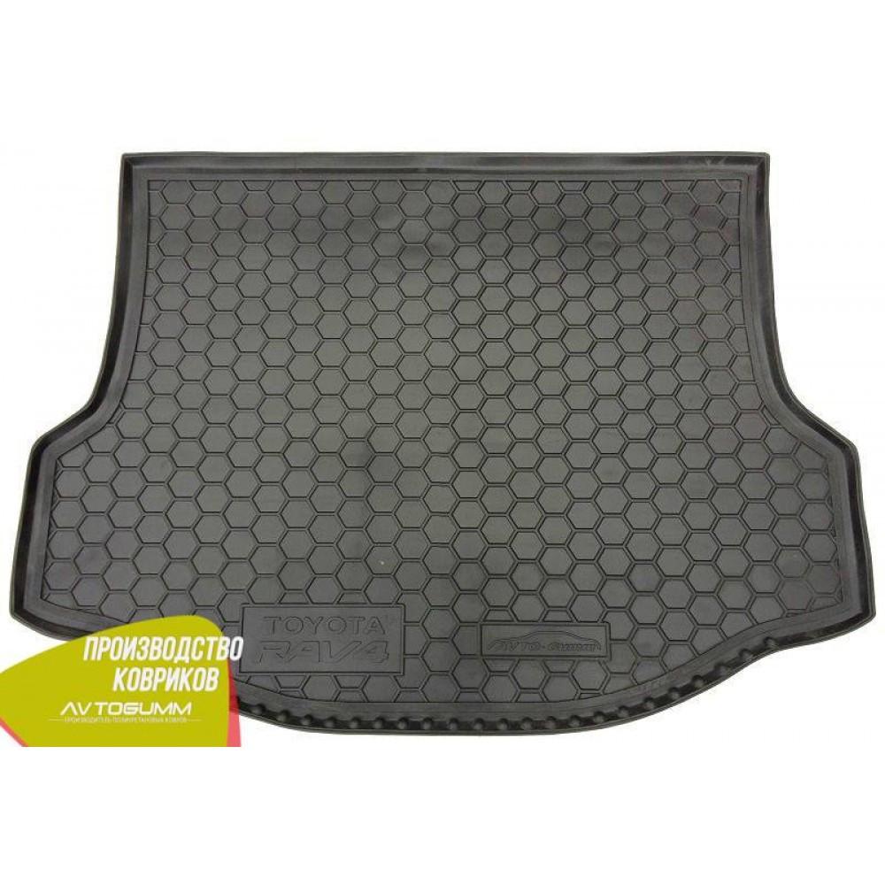 Авто коврик в багажник Toyota RAV4 2013- (докатка) (Avto-Gumm) Автогум