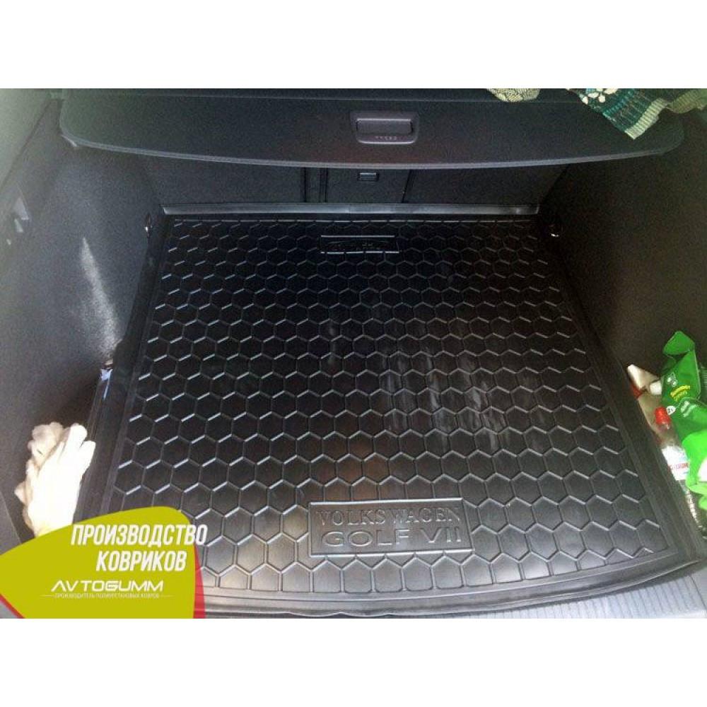 Авто килимок в багажник Volkswagen Golf 7 2013 - Універсальний (Avto-Gumm) Автогум