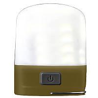 Фонарь кемпинговый Nitecore LR10 (High CRI LED, 250 люмен, 6 режимов, USB), оливковый