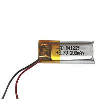 Литий-полимерный аккумулятор 41225  200mA